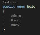 Implementation of the Role enum