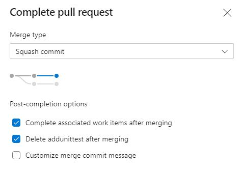 Complete the Pull Request